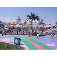 Wholesale Customized Size Aqua Park Custom Water Slides For Water Amusement Park Equipment from china suppliers