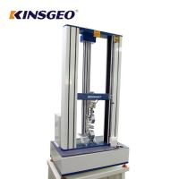 Wholesale AC Motor Double Column Universal Testing Machines For Plastic / Rubber / Fabric with 1 Year Warranty from china suppliers