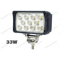 Wholesale IP67 33W 6 Inch LED Truck Work Lights Easy Replace For 4WD / Off Road from china suppliers