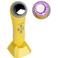 Buy cheap 1MHZ Ultrasonic Facial Machine , Red Blue Green LED Light Ultrasonic Cavitation Machine from wholesalers