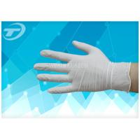 Wholesale Medical Disposable Gloves Latex Examination Glove , Powder And Powder Free from china suppliers