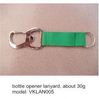 Wholesale Polyester lanyard with bottle opener, beer opener lanyard for promotional gift giveaways, from china suppliers