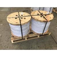 Buy cheap Galvanized Steel Wire Strand for stay wire as per BS 183 ,EN10244-2 main size 7x3.25mm,7x4.0mm from wholesalers