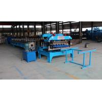 Wholesale 0.3 - 0.6mm Spanish Tile Roll Forming Machine 20 M / Min Chain Drive Roll Form Machine from china suppliers
