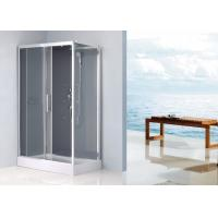 Wholesale Waterproof Rectangular Shower Unit , Free Standing Shower Enclosure Sliding Door from china suppliers