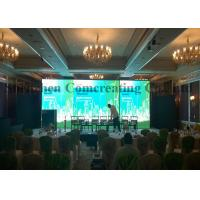Wholesale RGB Stage Background LED screen / custom indoor LED video wall 500mm x 1000mm from china suppliers