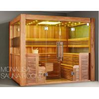 Wholesale Monalisa M-6046 sauna room Canadian cedar wood sauna room luxury sauna enclosure traditional dry steam sauna house from china suppliers