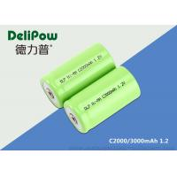Quality 2000 / 3000mAh 1.2 V Nimh Rechargeable Battery Oem Available for sale