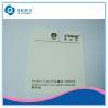 Buy cheap Pantone Printed Self Adhesive Labels , Silk Screen Printing Destructive Vinyl Stickers from wholesalers