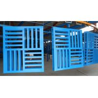 Wholesale Customize Shelf Storage and Cargo Transport , Q235B Steel Pallets with 150mm Height from china suppliers