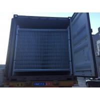 Wholesale temp fence for sale gumtree made in china brand new 2100mm x 2400mm width temp fencing 42 microns zinc layer fence panel from china suppliers