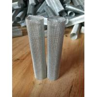 Wholesale Custom Length Metal Mesh Tube Micron Round Diamond Hole Pattern from china suppliers