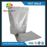 Wholesale Free sample aluminum foil stand up ziplock bag for food storage packaging from china suppliers