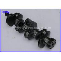 Wholesale Forged Diesel Engine Crankshaft 91H20 - 00990 For Nissan K21 / K25 Forklift from china suppliers
