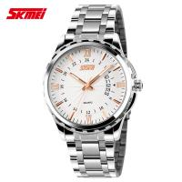 Wholesale Customized Japan Movt Stainless Steel Wrist Watch  Resistant Steel Band Watches from china suppliers