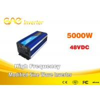 Wholesale 5000w Power Inverter Dc 48v Ac 220v Modified Sinewave Inverter 50hz 60hz from china suppliers