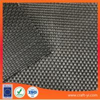 Buy cheap black color 2X1 weave style outdoor Anti-UV sun chair fabric in Textilene mesh fabric from wholesalers