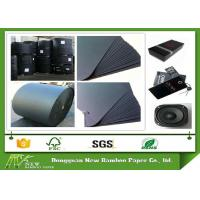 Wholesale High Durability Large Roll Of Black Paper One Side or Two Side smooth Surface from china suppliers