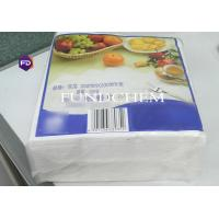 Wholesale Soft Biodegradable Paper Towel , 330*330mm 2 Ply Napkin 3000 Sheet 1/4 Fold from china suppliers