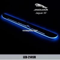 Wholesale Jaguar XF LED lights side step car door sill led light pedal scuff from china suppliers