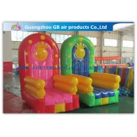 Wholesale Pvc Tarpaulin Seat Air Inflatable Sofa Couch Chair , Inflatable Chair from china suppliers