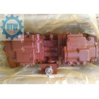 Quality Doosan DH370-7 Excavator Main Kawasaki Pump K5V140DTP-9N29-02 With Black Solenoid Valve for sale