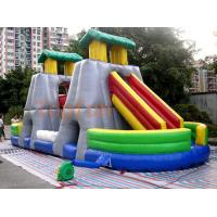Wholesale Exciting House Inflatable Water Slide Gray CE Blower With Double Lanes from china suppliers