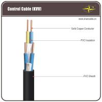 Wholesale Corrosion Resistant Black PVC Insulated / Shielded Control Cable For Being Laid Indoors from china suppliers