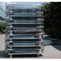 Wholesale Zinc Finish Rigid Rolling Wire Mesh Cages With Foot Brakes / Castors from china suppliers