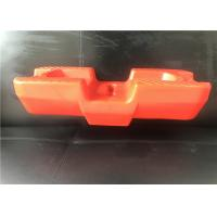 Buy cheap HDPE Temporary Fence Post Base , Temporary Fencing Blocks 600 X 228 X 150mm from wholesalers