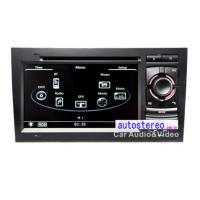Wholesale Audi A4 S4 Auto Stereo GPS Headunit Multimedia Satnav DVD Player With Sat Nav WinCE 6.0 from china suppliers
