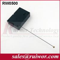 Cuboid Shaped Anti Theft Retractable Security Tether For Product Positioning