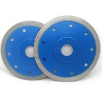 China Durable Turbo Rim Diamond Blade Fast And Smooth Cutting For Porcelain Tile on sale