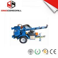 Buy cheap 200M Protable Small Trailer  Hydraulic Water Well Drilling Rig Borehole Drilling Equipment from wholesalers