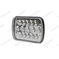 Wholesale 5 * 7 45W Square LED Work Lights , Shock Resistant 7 Inch Truck LED Flood Lights from china suppliers