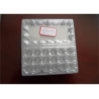 Wholesale Food Grade Disposable Plastic Egg Boxes 18 Cells Capacity Without Cracking And Crashing from china suppliers