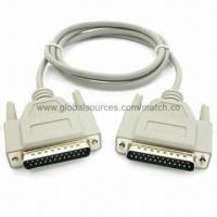 Wholesale DB25 Cable with 25 Pins Male Connector to Male DB25/USB/DB9/XLR/TRS/RJ45 Extension Audio Plug from china suppliers