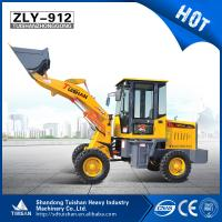 Wholesale 1.0 ton well made  mini loader with single cylinder diesel engine  used for construction from china suppliers