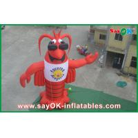 Wholesale Festival Red Inflatable Cartoon Characters 420D Oxford Cloth from china suppliers