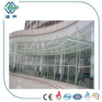 Ce And Iso9001 Curtain Wall Tempered Laminated Glass