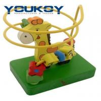 Wholesale Wooden Educational Beads Coaster Toy (YK1097) from china suppliers