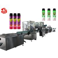 Wholesale Aerosol Spray Filling Machine for Insecticide Pesticide from china suppliers