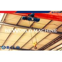 China Heavy Lifting Machine Green Electric Wire Rope Hoist 380 V 10t 15m on sale