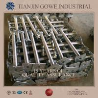Wholesale GOWE Galvanized Adjustable Jack Base for Frame scaffolding Support from china suppliers
