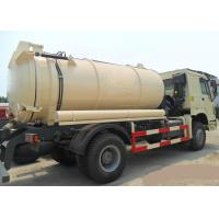 Wholesale Big Capacity Vacuum Sewage Suction Truck 8-12CBM from china suppliers