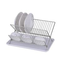 Wholesale Fashionable design wire hanging stainless steel kitchen cutlery dish rack from china suppliers