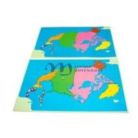Wholesale Puzzle Map: North America from china suppliers