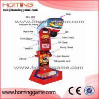 Wholesale Newest Punch Bag Boxing Amusement Game Machine / Boxing Game Machine / boxing arcade machines(hui@hominggame.com) from china suppliers