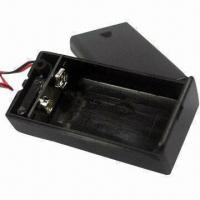 Wholesale 9V Battery Holder with Switch and Cover from china suppliers