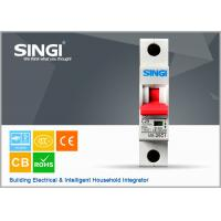 Wholesale Power mini single pole circuit breaker for home with CE / CB Certificate from china suppliers